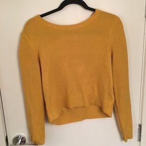 H&M mustard sweater.